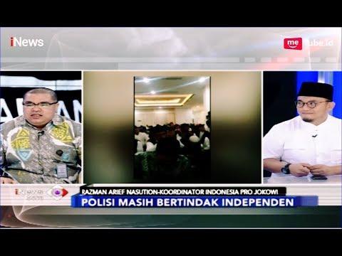 Razman Arif Peringatkan Dahnil Anzar Yang Menyebut Polisi Berpihak - INews Sore 21/03