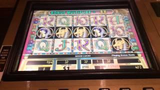 Cleopatra II $20 bet big bonus win high limit slots