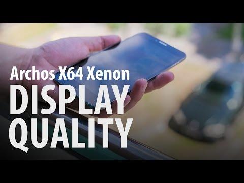 Archos 64 Xenon : Display Quality Outdoors
