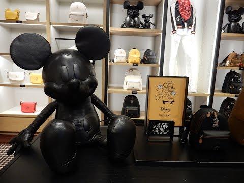 Disney COACH Mickey Collection Designer Shopping & Haul