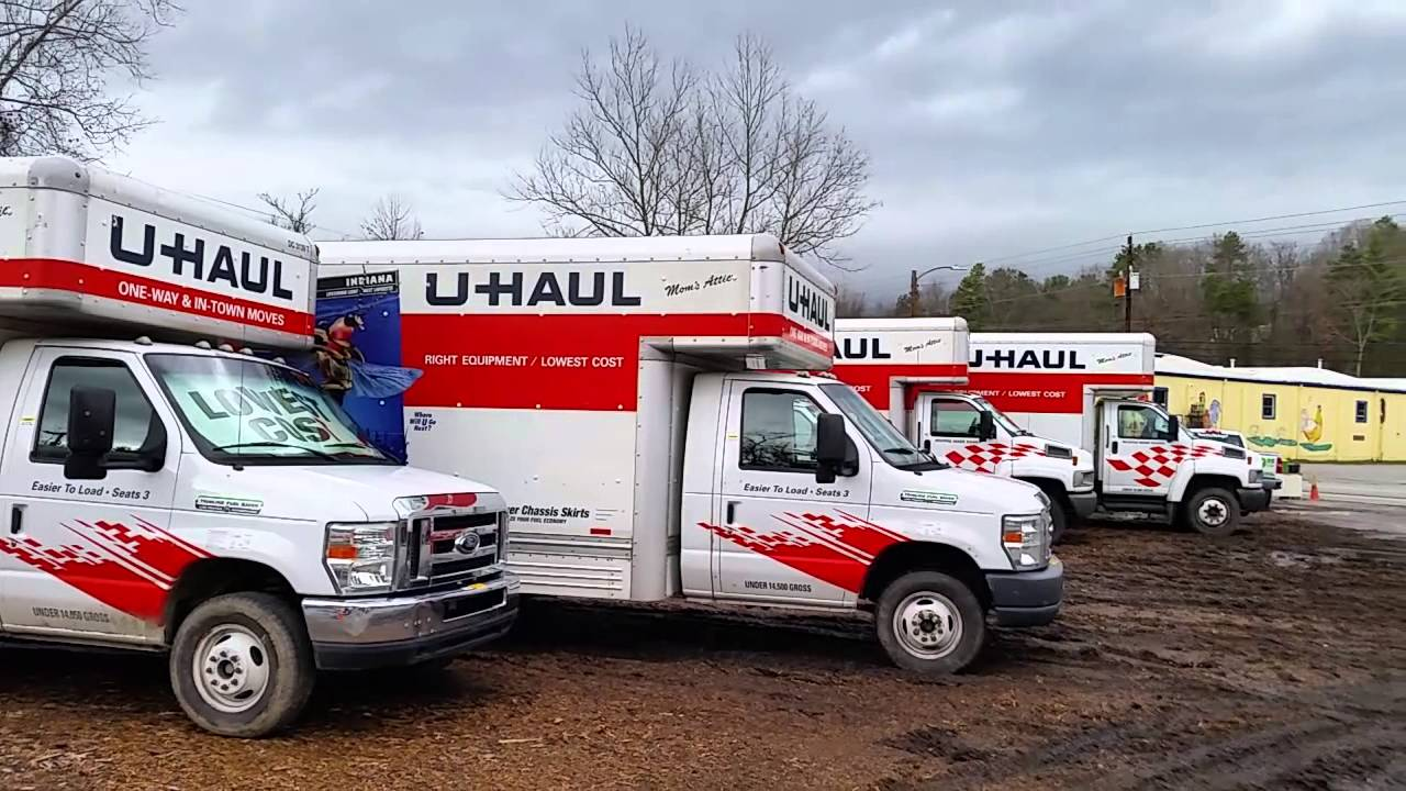 Uhaul truck rental rates one way