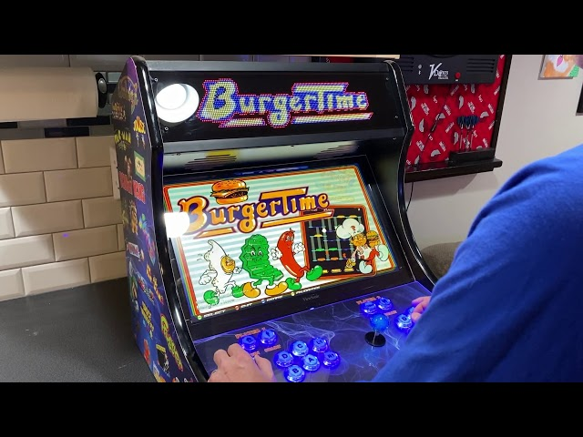Game Room Solutions Bartop Deluxe with Pixelcade LED Marquee