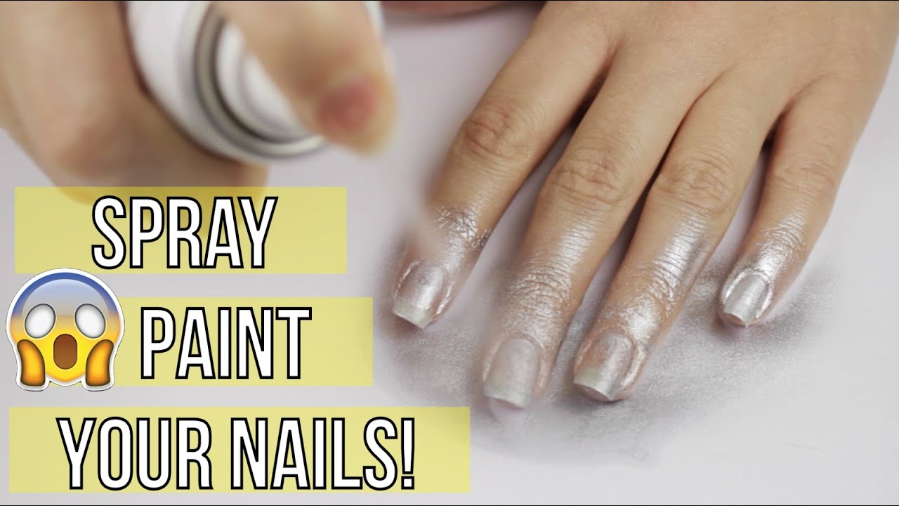 Spray painting your nails youtube for How does spray paint work