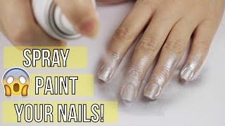 Spray Painting Your Nails?!(Download the Polish Blast game for FREE: http://www.cutepolishblast.com You can find the Paint Cans here: http://bit.ly/1NdG1Hu In today's video I'm going to ..., 2015-11-26T02:04:58.000Z)