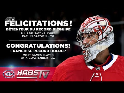 Habs legends congratulate Price on surpassing Plante