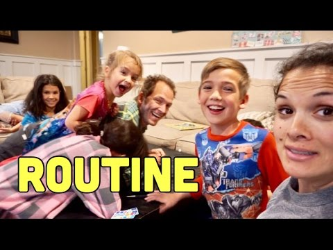 SUNDAY FAMILY ROUTINE | CRAZY FAMILY COUNCIL