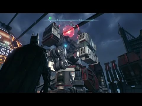 Batman Arkham Knight - Destroy Arkham Knight's defense grid on Founders' island _ Part 2