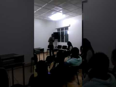 HAVE YOU FORGOTTEN a poem BYJulius at Goethe Institute of Rwanda
