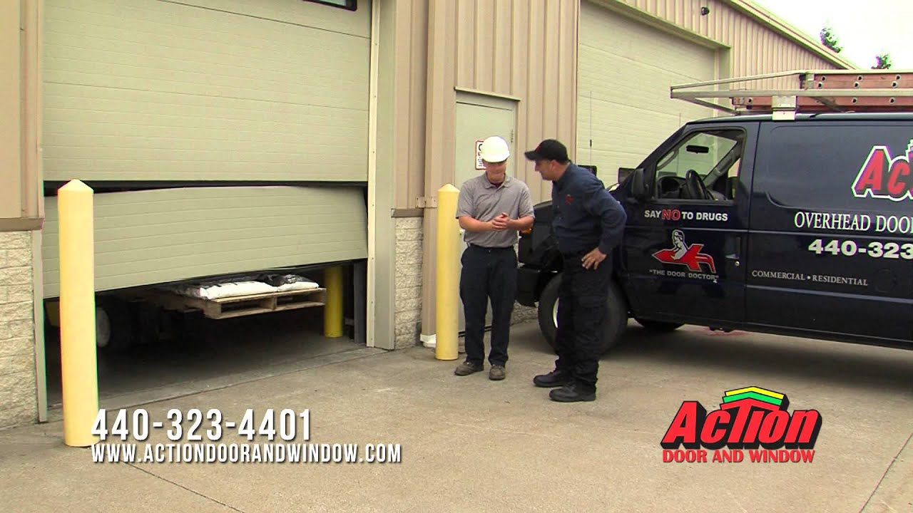 & Action Door And Windows Forklift Commercial - YouTube