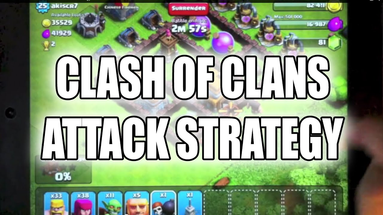 clash of clans tips just started dating