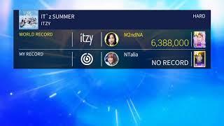 SUPERSTAR JYPNATION: ITZY - IT'Z SUMMER | Hard Mode - 3 Stars!