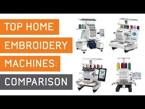 Best Home Embroidery Machine Comparison | Ricoma Vs BabyLock Vs Brother Vs Janome