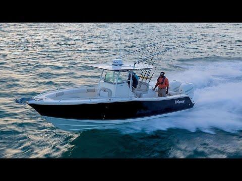 MAKO Boats: 2015 284 CC Offshore Fishing Boat