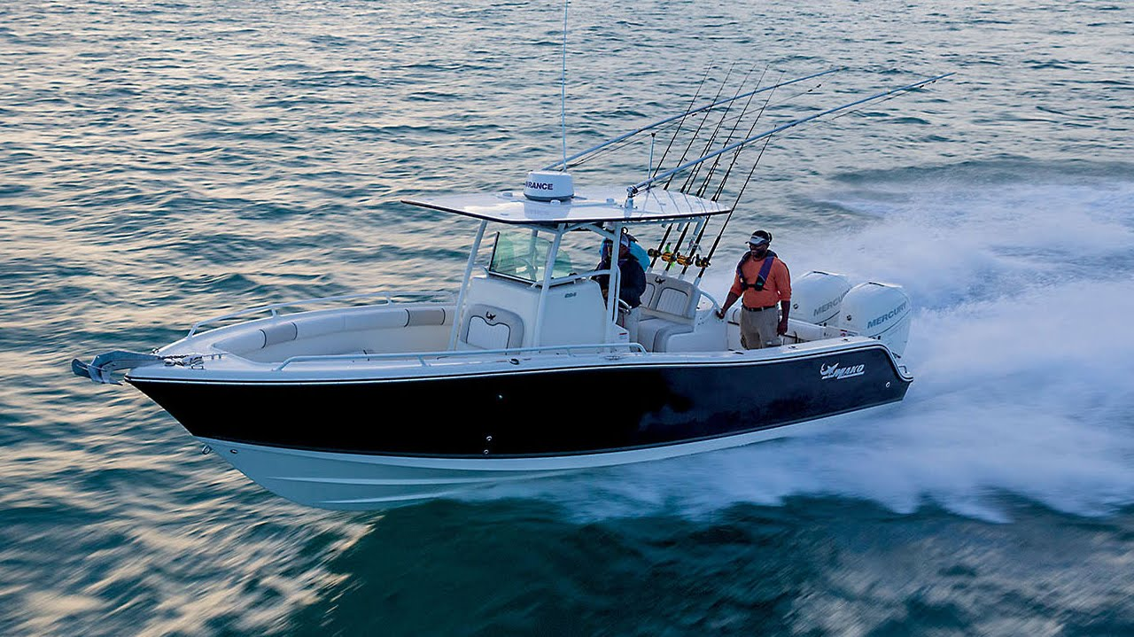 Mako Boats 2015 284 Cc Offshore Fishing Boat Youtube