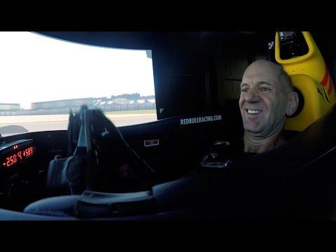 The Red Bull Racing Simulator Challenge: Adrian Newey