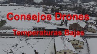 Consejos - Drones en temperaturas bajas