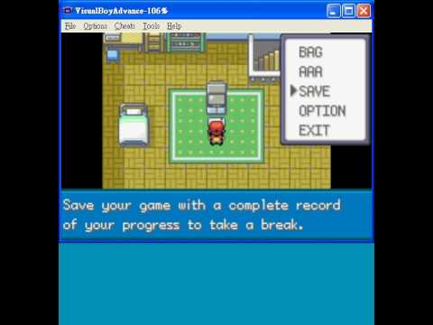 Pokemon fire red save game download vba