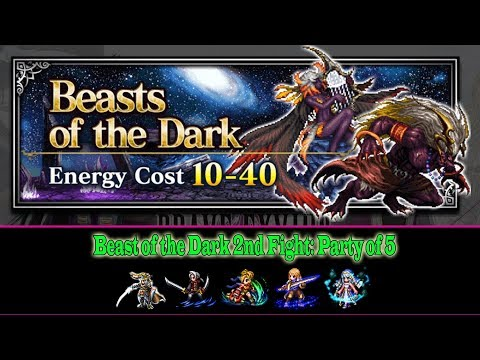FF BE Beast of the Dark Trial: Party of 5(#226)