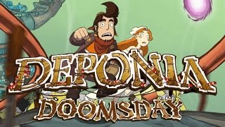 Deponia Doomsday - Announcement Teaser | Daedalic Game HD