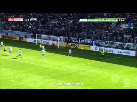 Кемницер 0:2 Боруссия Дортмунд | Кубок Германии 2015-16 | 1/32 финала | Обзор матча