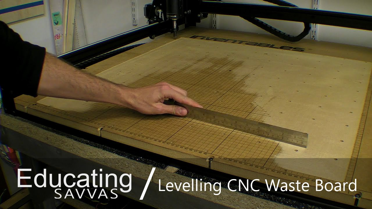 Levelling Cnc Waste Board G Code Travel Error Youtube