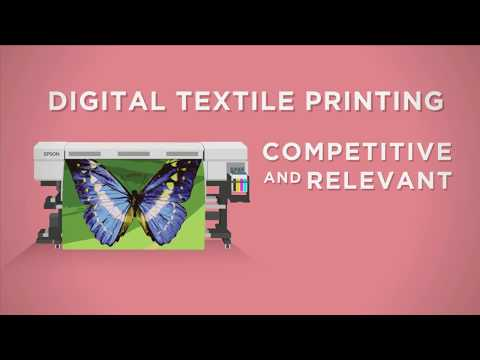 Epson Sublimation Textile Printer  - Printing Possibilities on various applications