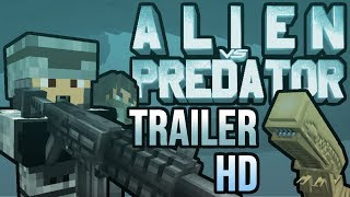 Alien vs Predator Minecraft Mod Official Trailer 2 [HD]