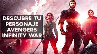 ¿Qué personaje de Avengers Infinity War eres? | Test Divertidos Video