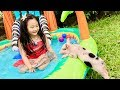 Outdoor Fun with Bug and Baby Pua