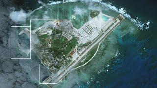 Trung Quốc bồi đắp nối liền hai đảo nhỏ ở Hoàng Sa