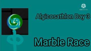 Algicosathlon Day 3 (Marble Run 2d)
