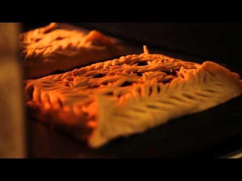 Пирог штолле с красной рыбой рецепт