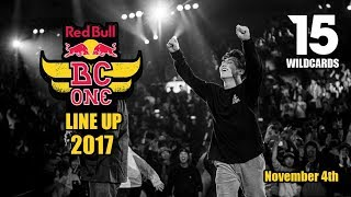 Red Bull Bc One 2017 Lineup Official