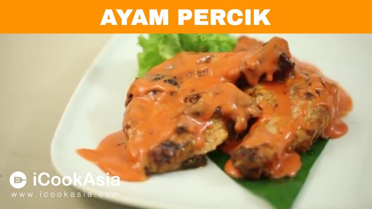 Resepi Ayam Percik | Try Masak | iCookAsia - YouTube