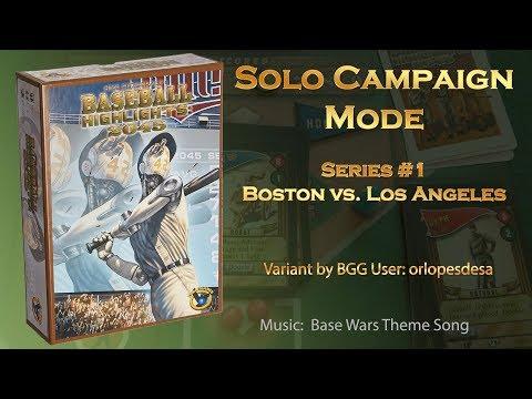 Baseball Highlights 2045 - Solo Campaign 1