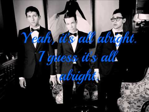 fun. - All Alright (Lyric Video)