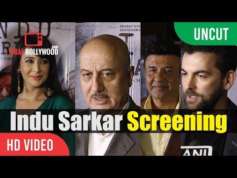 Ashutosh Gowariker, Madhur Bhandarkar, Kirti Kulhari | Indu Sarkar Movie Review | Special Screening