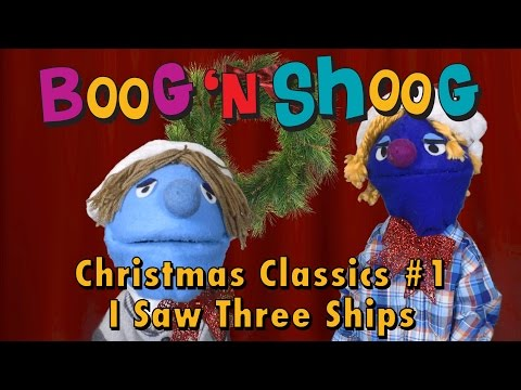 I Saw Three Ships Christmas Classics #1 songs and carols for kids with Jenna, Boog n Shoog