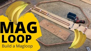 HAM RADIO: Building a magnetic loop antenna Part 1