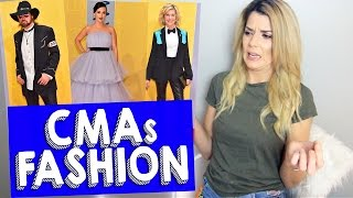 CMAs FASHION REVIEW // Grace Helbig