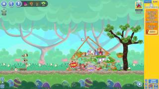 Angry Birds Friends Easter Tournament ● LEVEL 1 ● 154 K HD ● Week 202 ●  POWER UP