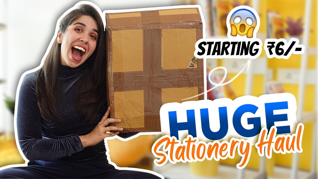 FINALLY A Stationery Haul | Cute items you CAN'T MISS! | Heli Ved