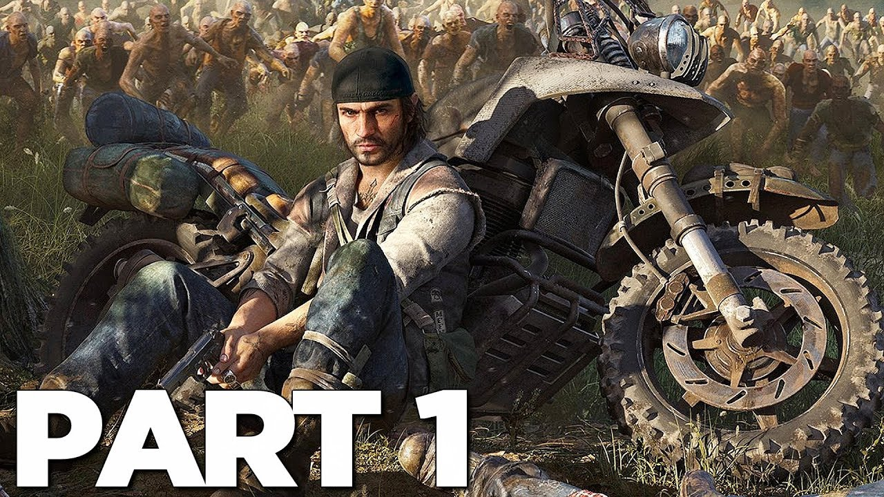 DAYS GONE Komplettlösung Gameplay Teil 1 - INTRO (PS4 Pro) + video