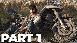 Days Gone Walkthrough Gameplay Part 1   Intro (ps4 Pro)