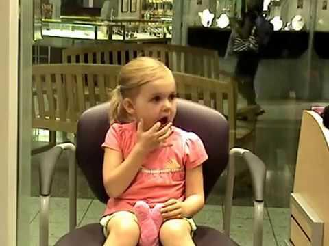 Ear Piercing 4 Year Old No Tears Youtube