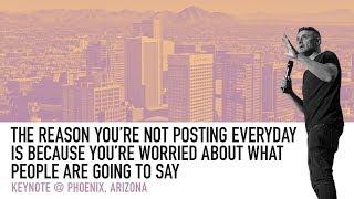 How to Overcome Insecurities on Social Media   Gary Vaynerchuk Keynote 2018