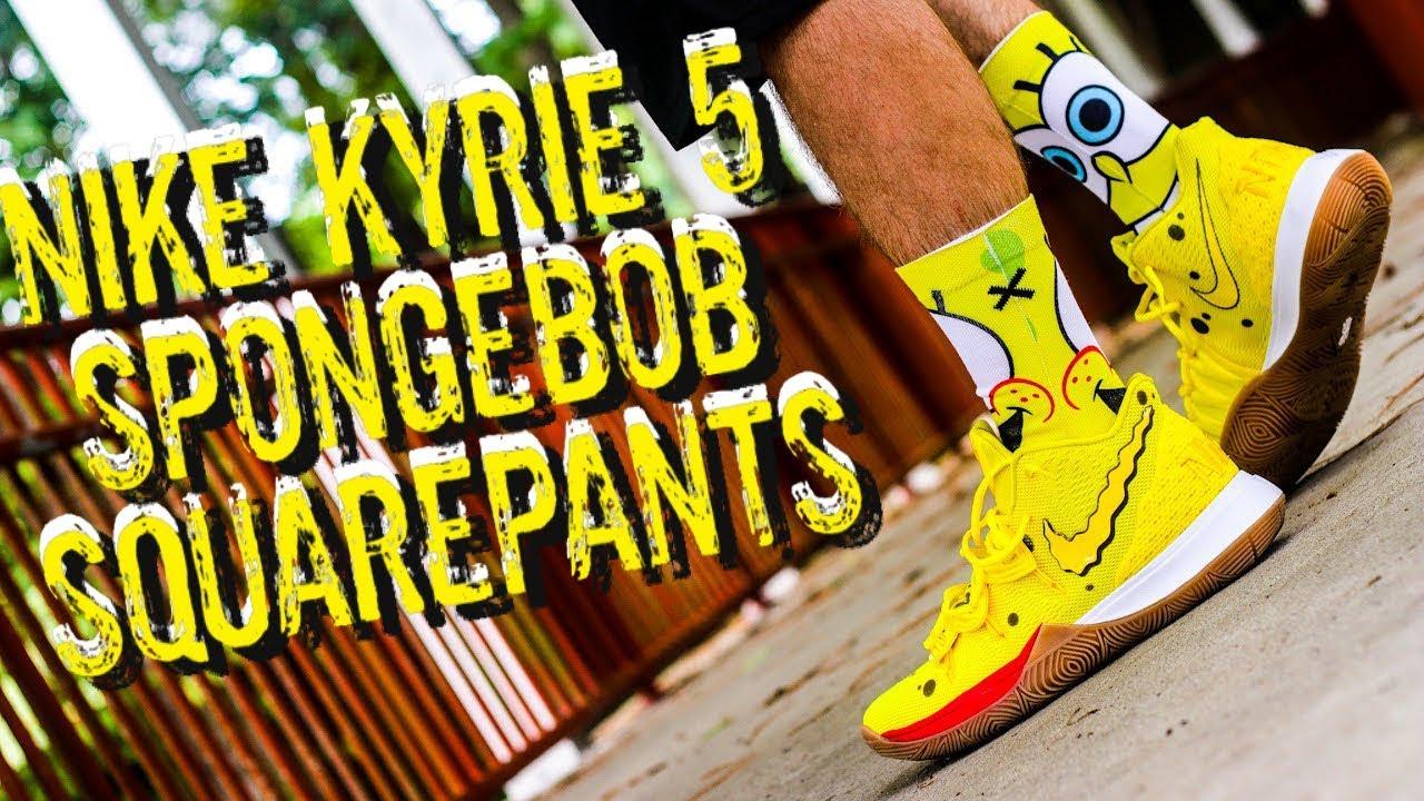 Kyrie 5 Spongebob Squarepants