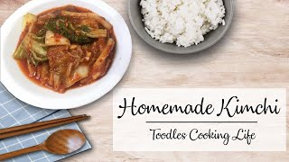 Homemade Kimchi Recipe  Toodles Cooking Life