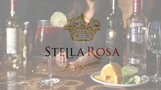 Stella Rosa Midnight Sangria Cocktail Recipe | Stella Rosa Tv