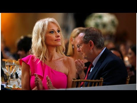 """Trump praises """"beloved"""" Kellyanne Conway for doing the jobs no one else wants"""